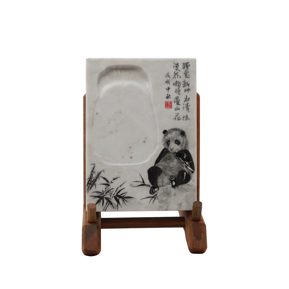 Imperial White Inkstone (Royal Panda Collection Ref 6020)
