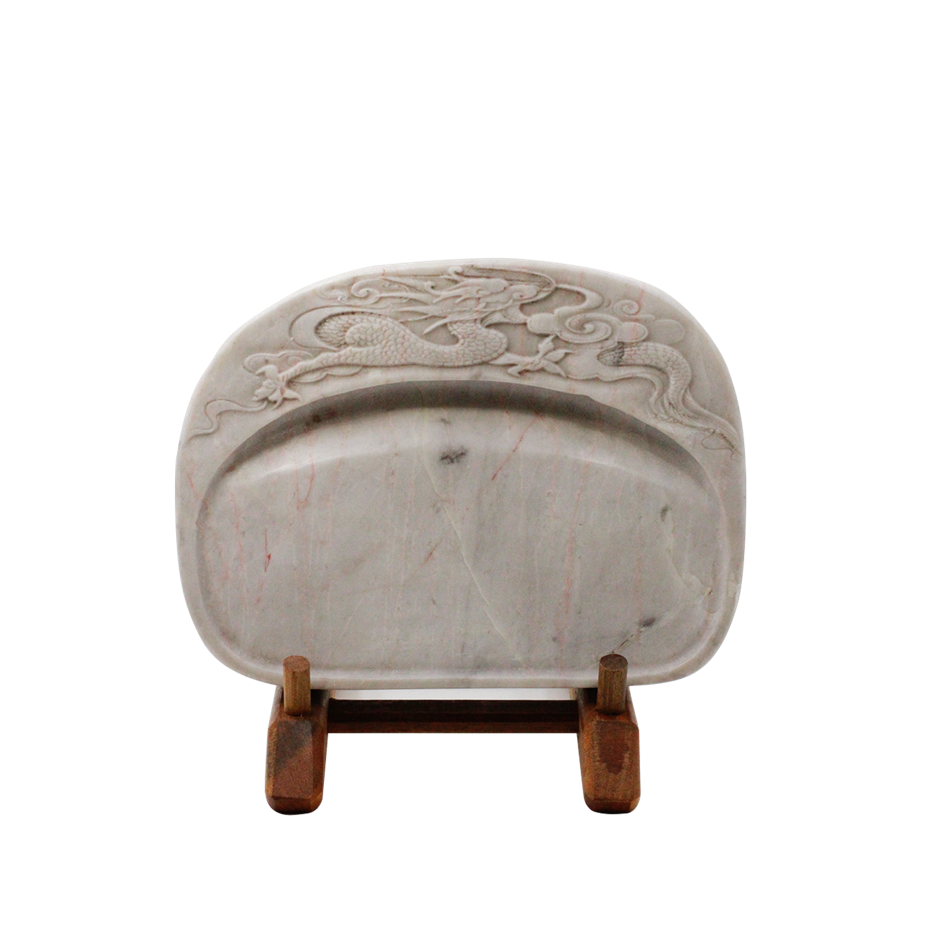 Imperial White Inkstone (Imperial Dragon Collection Ref 4020)